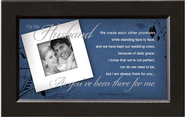 There For You, Husband Framed Print  -     By: Anne Peterson