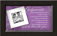 There For You, Godparents Framed Print  -     By: Anne Peterson
