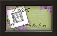 There For You, Parents Framed Print  -     By: Anne Peterson