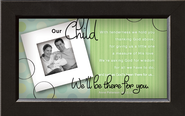 There For You, Our Child Framed Print  -     By: Anne Peterson