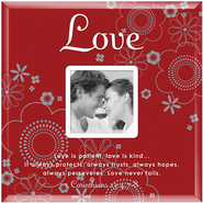 Love is Patient Photo Frame  -