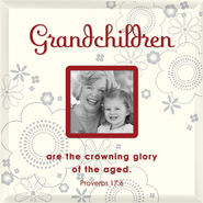 Grandchildren are the Crowning Glory Photo Frame  -