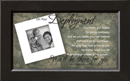 There For You, On Your Deployment Framed Print  -     By: Anne Peterson