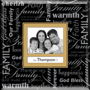Family Name Photo Frame   -