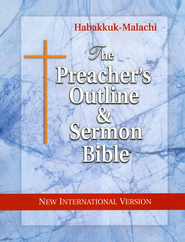 The Preacher's Outline & Sermon Bible: NIV Softset Habakkuk-Malachi  -     By: Leadership Ministries Worldwide