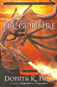 DragonFire, DragonKeepers Chronicles Series #4  - Slightly Imperfect  -     By: Donita K. Paul