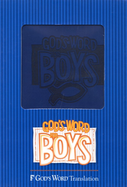 GOD'S WORD for Boys Bible, Duravella, blue  -