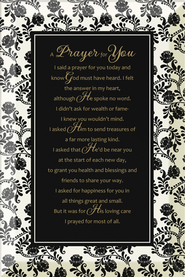 A Prayer for You Plaque  -