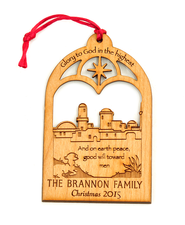 Personalized Bethlehem Ornament   -