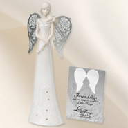 Friendship, Pierced Wings Message Angel   -