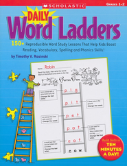 Daily Word Ladders: Grades 1-2  -     By: Timothy Rasinski
