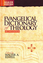Evangelical Dictionary of Theology, 2nd Edition   -     By: Edited by Walter A. Elwell