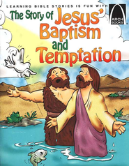 The Story of Jesus' Baptism and Temptation   -