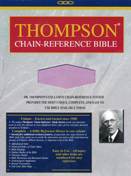 NIV Thompson Chain-Reference Bible, Handy Size, Lavender Kirvella Imitation Leather 1984  -