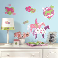 Horses Vinyl Wall Stickers  -