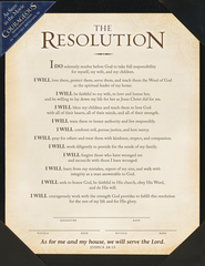 The Resolution Frame-Ready Print    -