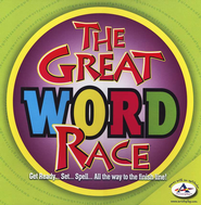 The Great Word Race Board Game  -