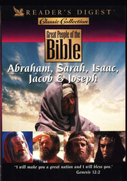 Great People of the Bible: Abraham, Sarah, Isaac, Jacob & Joseph, DVD  -