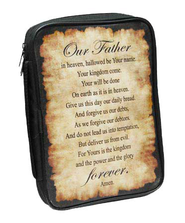 Lords Prayer Bible Cover  -