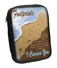 Footprints Bible Cover  -
