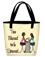 Too Blessed Tote  -