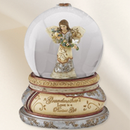 A Grandmother's Love Musical Water Globe  -