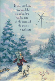 In Times Like These Christmas Cards, Box of 18  -