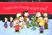 Peanuts Hark the Herald Christmas Cards, Box of 18  -
