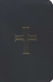 First Communion Bible, GNT New Testament, Black Leather-look  - Slightly Imperfect  -