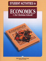 BJU Heritage Studies Grade 12 (Economics), Student Activities    -