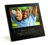 Personalized, Righteous Man Photo Frame   -