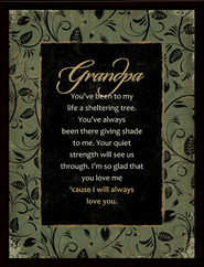 Grandpa Framed Plaque, Gift Boxed  -