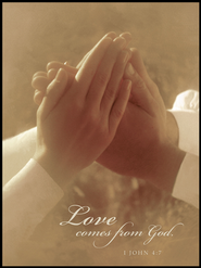 Love Comes From God Mounted Print  -              By: Robert Cushman Hayes