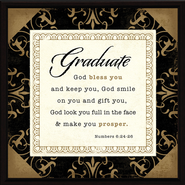 Graduate, God Bless You Plaque  -