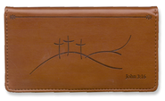 Calvary Crosses, Checkbook Cover  -