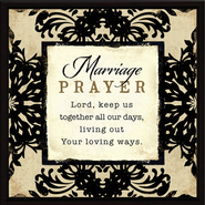 Marriage Prayer Plaque  -