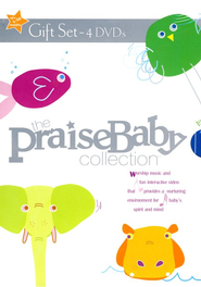 The Praise Baby Collection, 4 DVD Set   -