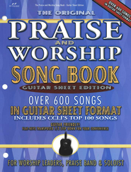 The Original Praise & Worship Songbook, Guitar Sheet Edition   -