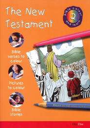 Bible Colour and Learn: 02 The New Testament  -