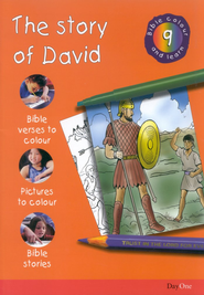 Bible Colour and Learn: 09 The Story of David  -