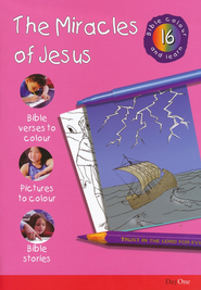 Bible Colour and Learn: 16 Miracles of Jesus  -