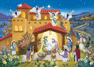 Noche de Paz Advent Calendar, Spanish Bible Text  -