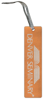 Denver Seminary Bookmark, Orange   -