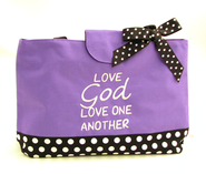 Love God, Love One Another--Water-Repellent Tote   -