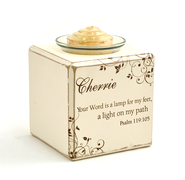 Personalized, Your Word is a Lamp Votive Holder, Single   -
