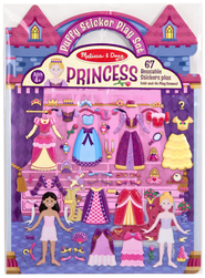 Princess, Puffy Sticker Play Set  -