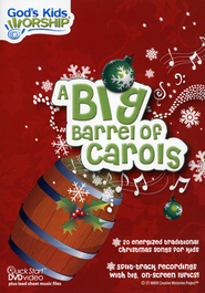 A Big Barrel of Carols, DVD   -