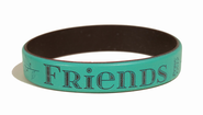 Friends Silicone Bracelet  -