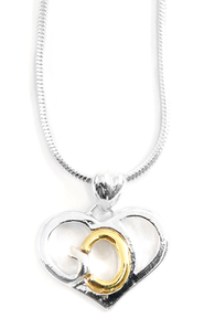 God's Heart Necklace   -