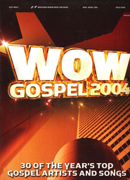 WOW Gospel 2004 Songbook   -